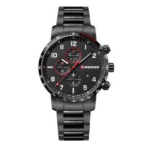 ウェンガー WENGER 01.1543.115 アティテュード クロノ 正規品 腕時計|tokeikan