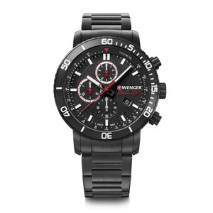 ウェンガー WENGER 01.1843.110 ロードスター ブラックナイト 正規品 腕時計|tokeikan