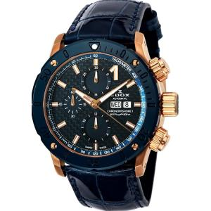 エドックス EDOX 01122-37RBU3-BUIR3-L クロノオフショア1 クロノグラフ オートマチック 正規品 腕時計|tokeikan