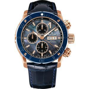 エドックス EDOX 01122-37RBU3-NANIR-L クロノオフショア1 クロノグラフ オートマチック 日本限定150本 正規品 腕時計|tokeikan
