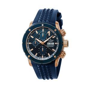 エドックス EDOX 01122-37RBU35-BUIR3 クロノオフショア1 クロノグラフ オートマチック 正規品 腕時計|tokeikan