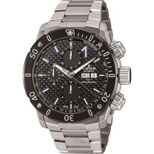 エドックス EDOX 01122-3M-NIBU6 クロノオフショア1 クロノグラフ オートマチック 正規品 腕時計|tokeikan