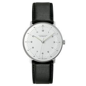 ユンハンス マックスビル JUNGHANS max bill 027 3500 02 オートマチック サファイアガラス 正規品 腕時計 tokeikan