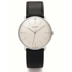 ユンハンス マックスビル JUNGHANS max bill 027 3501 02 オートマチック サファイアガラス 正規品 腕時計 tokeikan