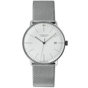ユンハンス マックスビル JUNGHANS max bill 027 4002 46 オートマチック デイト サファイアガラス 正規品 腕時計 tokeikan