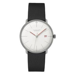 ユンハンス マックスビル JUNGHANS max bill 027 4009 02 オートマチック バウハウス 正規品 腕時計 tokeikan