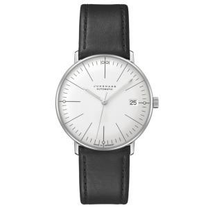 ユンハンス マックスビル JUNGHANS max bill 027 4105 02 クライネ オートマチック サファイアガラス 正規品 腕時計 tokeikan