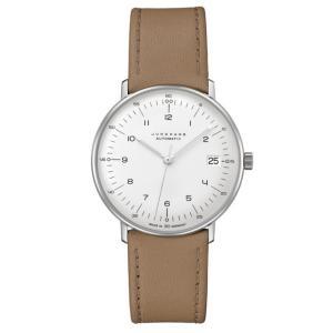 ユンハンス マックスビル JUNGHANS max bill 027 4107 02 クライネ オートマチック サファイアガラス 正規品 腕時計 tokeikan
