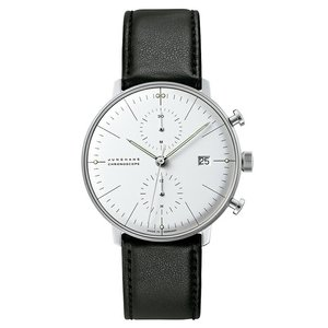 ユンハンス マックスビル JUNGHANS max bill 027 4600 00 chronoscope 正規品 腕時計 tokeikan