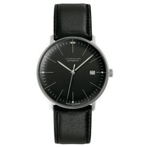 ユンハンス マックスビル JUNGHANS max bill 027 4701 00 automatic date 正規品 腕時計 tokeikan