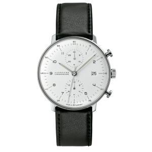 ユンハンス マックスビル JUNGHANS max bill 027 4800 00 chronoscope 正規品 腕時計 tokeikan