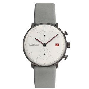 ユンハンス マックスビル JUNGHANS max bill 027 4902 02 クロノスコープ バウハウス創立100周年記念 限定1000本 正規品 腕時計 tokeikan