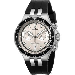 エドックス EDOX 10109-3CA-AIN デルフィン クォーツ クロノグラフ 正規品 腕時計|tokeikan