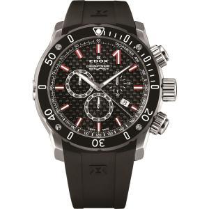 エドックス EDOX 10221-3-NIRO2 クロノオフショア1 クロノグラフ クォーツ 正規品 腕時計|tokeikan