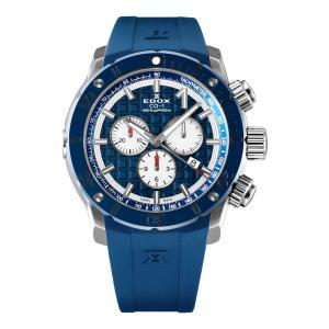 エドックス EDOX 10221-3BU9-BUIN9 クロノオフショア1 クロノグラフ クォーツ 正規品 腕時計|tokeikan