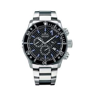 エドックス EDOX 10221-3M-NIBU2 クロノオフショア1 クロノグラフ クォーツ 正規品 腕時計|tokeikan