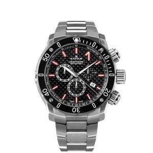 エドックス EDOX 10221-3M-NIRO2 クロノオフショア1 クロノグラフ クォーツ 正規品 腕時計|tokeikan