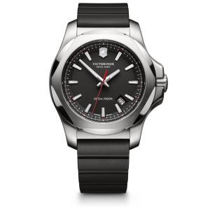 【今ならステンレス製マイストロープレゼント】 ビクトリノックス VICTORINOX 241682.1 イノックス 創業130年記念 正規品 腕時計|tokeikan