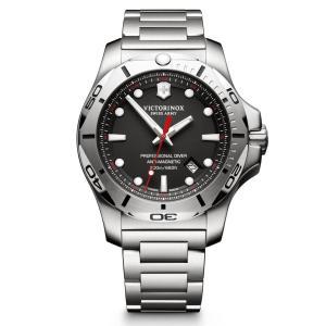 【今ならステンレス製マイストロープレゼント】 ビクトリノックス VICTORINOX 241781 イノックス ダイバー 正規品 腕時計|tokeikan