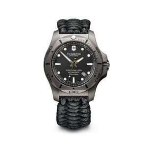 【今ならステンレス製マイストロープレゼント】 ビクトリノックス VICTORINOX 241812 イノックス ダイバー チタニウム 正規品 腕時計|tokeikan