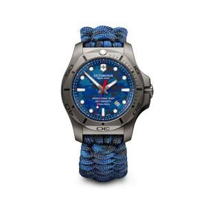 【今ならステンレス製マイストロープレゼント】 ビクトリノックス VICTORINOX 241813 イノックス ダイバー チタニウム 正規品 腕時計|tokeikan