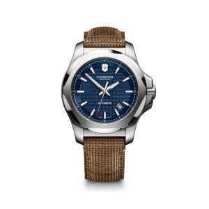 【今ならステンレス製マイストロープレゼント】 ビクトリノックス VICTORINOX 241834 イノックス メカニカル 正規品 腕時計|tokeikan
