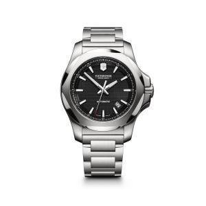 【今ならステンレス製マイストロープレゼント】 ビクトリノックス VICTORINOX 241837 イノックス メカニカル 正規品 腕時計|tokeikan
