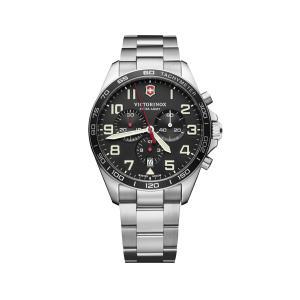 【今ならステンレス製マイストロープレゼント】 ビクトリノックス VICTORINOX 241855 フィールドフォース クロノ 正規品 腕時計|tokeikan