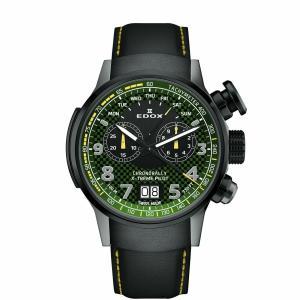 エドックス EDOX 38001-TINGN-V3 クロノラリー エクストリーム パイロット リミテッドエディション 世界限定555本 正規品 腕時計|tokeikan