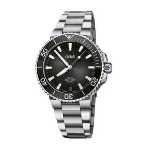 オリス ORIS 01 400 7769 4154-07 8 22 09PEB アクイス デイト キャリバー400 正規品 腕時計|tokeikan