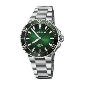 オリス ORIS 01 400 7769 4157-07 8 22 09PEB アクイス デイト キャリバー400 正規品 腕時計|tokeikan