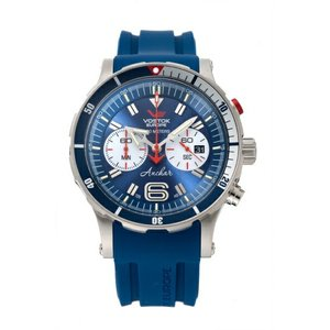 ボストーク ヨーロッパ VOSTOK EUROPE 6S21-510A583 アンチャール クロノグラフ 正規品 腕時計|tokeikan
