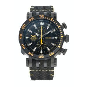 ボストーク ヨーロッパ VOSTOK EUROPE VK61-575C589 エネルギア クロノグラフ 正規品 腕時計|tokeikan