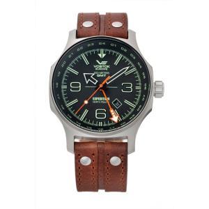 【正規品】 VOSTOK EUROPE 【ボストーク ヨーロッパ】 515.24H-595A501 エクスペディション ノースポール1 GMTライン 【腕時計】|tokeikan