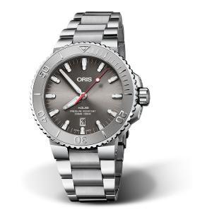 オリス ORIS 01 733 7730 4153-07 8 24 05PEB アクイス デイト レリーフ 正規品 腕時計|tokeikan