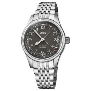オリス ORIS 01 754 7749 4064-07 8 17 22 ビッグクラウン ポインターデイト 正規品 腕時計|tokeikan