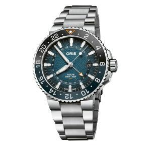 オリス ORIS 01 798 7754 4175-Set アクイス デイト ホエールシャーク リミテッド エディション 世界限定2016本 正規品 腕時計|tokeikan