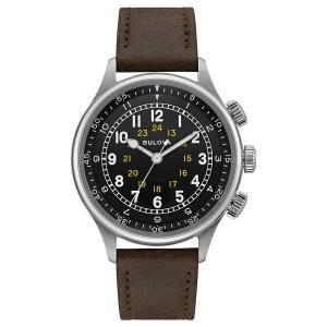 ブローバ BULOVA 96A245 ミリタリー オートマチック 正規品 腕時計 tokeikan