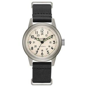 ブローバ BULOVA 96A246 ミリタリー オートマチック 正規品 腕時計 tokeikan