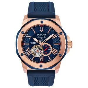 ブローバ BULOVA 98A227 マリーンスター オートマチック 正規品 腕時計 tokeikan