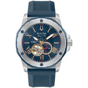 ブローバ BULOVA 98A282 マリーンスター オートマチック 正規品 腕時計 tokeikan