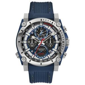 ブローバ BULOVA 98B315 プレシジョニスト クロノグラフ 正規品 腕時計 tokeikan