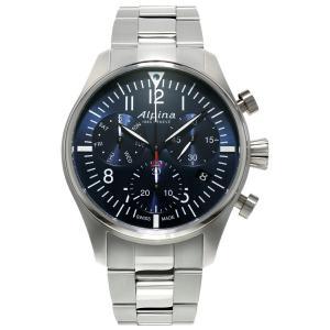 アルピナ Alpina AL-371NN4S6B スタータイマー パイロット クロノグラフ 正規品 腕時計|tokeikan