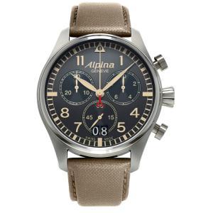 アルピナ Alpina AL-372BGR4S6 スタータイマー パイロット ビッグデイト クロノグラフ 正規品 腕時計|tokeikan