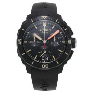 アルピナ Alpina AL-372LBBG4FBV6 シーストロング ダイバー300 ビッグデイト クロノグラフ 正規品 腕時計|tokeikan