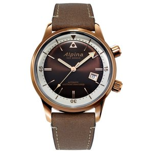 アルピナ Alpina AL-525BRC4H4 シーストロング ダイバー ヘリテージ 正規品 腕時計|tokeikan