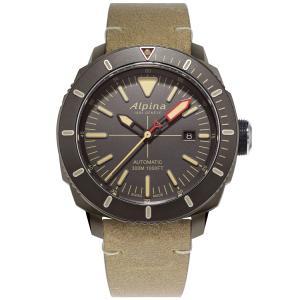アルピナ Alpina AL-525LGG4TV6 シーストロング ダイバー300 正規品 腕時計|tokeikan