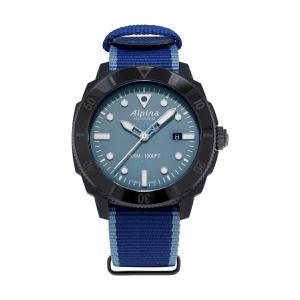 アルピナ Alpina AL-525LNB4VG6 シーストロング ダイバー ジャイル 替えベルト付属 世界限定1883本 正規品 腕時計|tokeikan