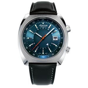 アルピナ Alpina AL-555N4H6 スタータイマー パイロット ヘリテージ GMT 正規品 腕時計|tokeikan