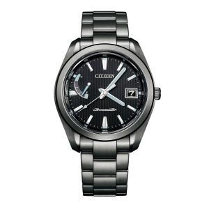 【今ならパスポートケースプレゼント】 ザ・シチズン The CITIZEN AQ1054-59E 高精度エコドライブ 正規品 腕時計 tokeikan